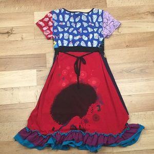 Desigual Dresses - RARE VINTAGE DESIGUAL DRESS bought in Spain, M